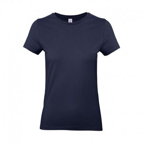 Tee-shirt de Travail Coton Femme Bleu Marine - TOPTEX 100% Coton