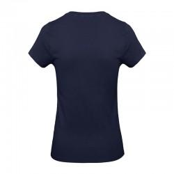 Tee-shirt de Travail Coton Femme Bleu Marine - TOPTEX Certifié Oeko-Tex 100