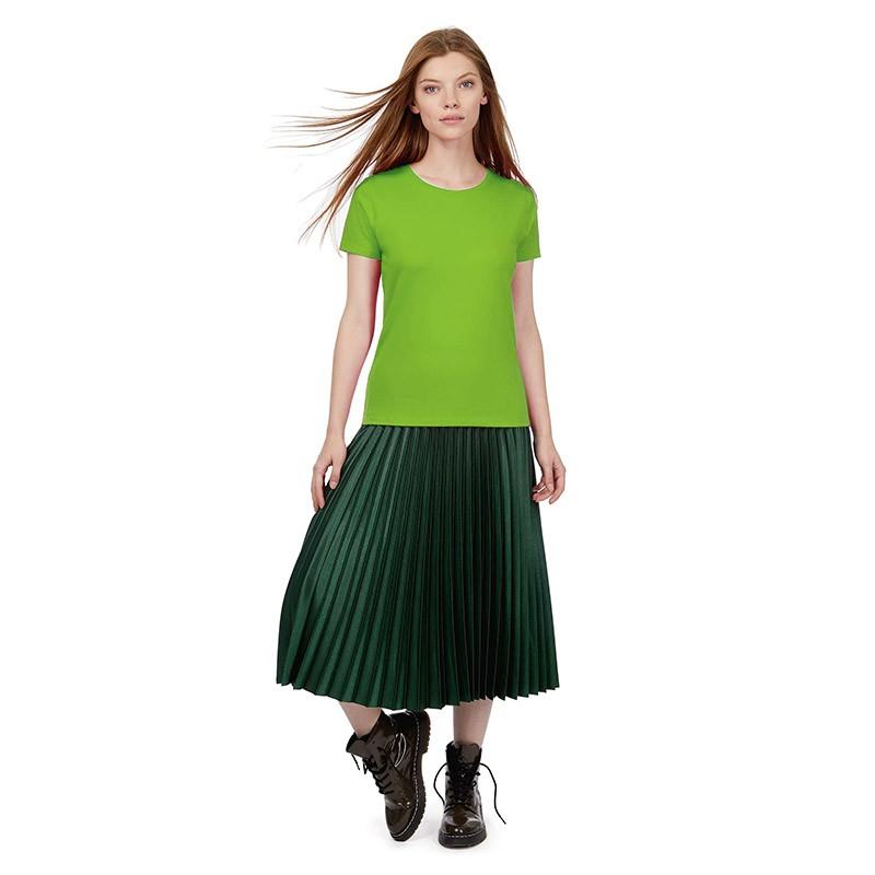 Tee-shirt de Travail Coton Femme Vert - TOPTEX manches courtes