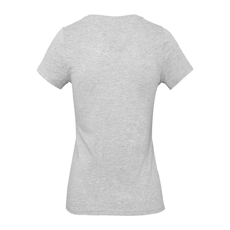 Tee-shirt de Travail Coton Femme Gris Chiné - TOPTEX Certifié Oeko-Tex 100