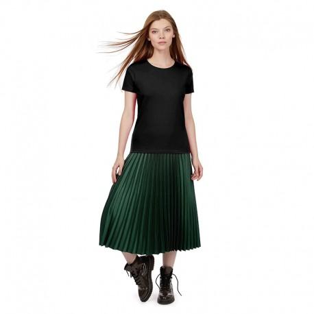 Tee-shirt de Travail Coton Femme Noir - TOPTEX Manches courtes