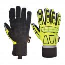 Gants de Protection Anti-Impact - PORTWEST - Colori Jaune avec bandes réfléchissantes