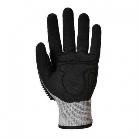 Gants Impact Protection Anti-Coupure - PORTWEST Enduction mousse nitrile excellente adhérence