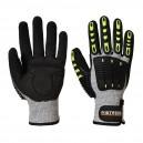 Gants Impact Protection Anti-Coupure - PORTWEST Attache bandes auto-agrippantes pour un ajustement sécurisé