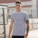 Tee-shirt de Travail Manches Courtes Marinière - TOPTEX - Tailles : Du XS au 2XL