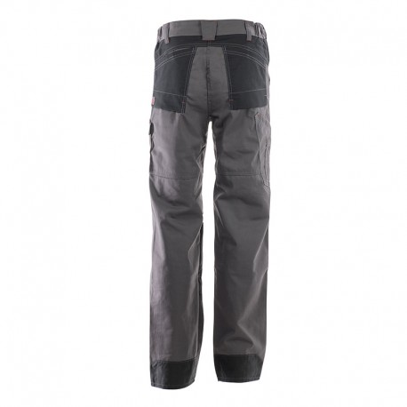 Pantalon Multipoches Protection Genoux Noir ADOLPHE LAFONT Dos poches