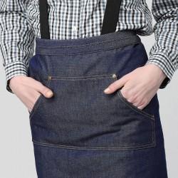 Tablier de Barman Jean - MANELLI double poches latérales, poche centrale