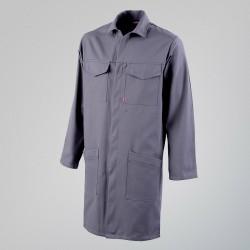 Blouse de travail ACIER 7MIE00CP - ADOLPHE LAFONT - 2 poches poitrine à rabats fermés par grippers