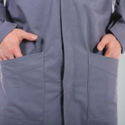 Blouse de travail ACIER 7MIE00CP - ADOLPHE LAFONT - 2 poches basses en biais