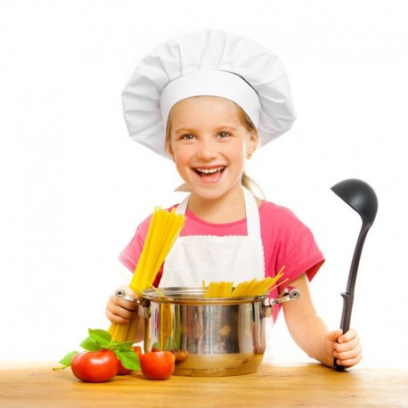 Toque de Cuisine Enfant - EGOCHEF - Blanche