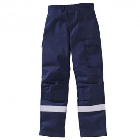 Pantaloni ambulanza con bandafosforescente