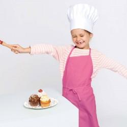 Tablier de Cuisine Enfant - TOPTEX - rose