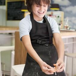 Tablier de Cuisine Enfant - TOPTEX - noir