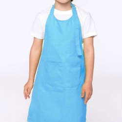 Tablier de Cuisine Enfant - TOPTEX - bleu