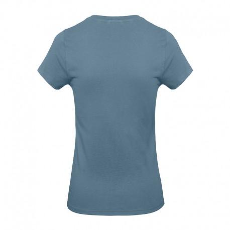 Tee-shirt de Travail Coton Femme Stone Blue - TOPTEX