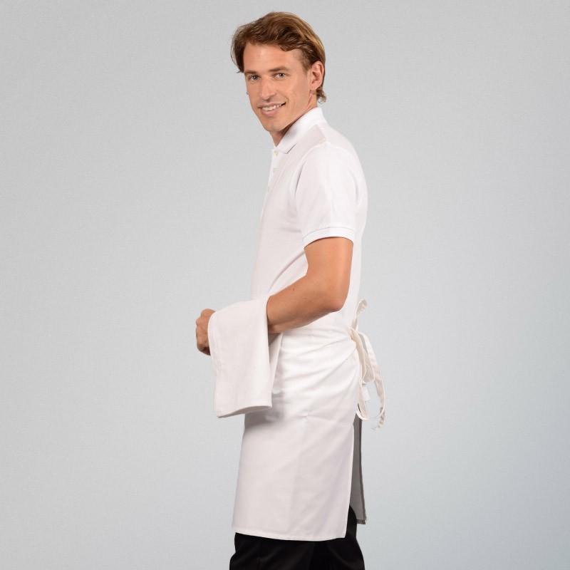 Tablier de Cuisine demi Chef 100% coton - MANELLI