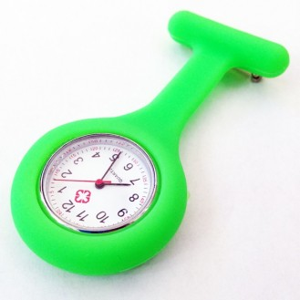 Orologio infermiera verde