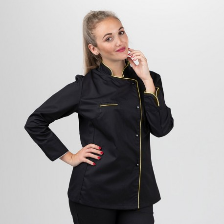 LA Box Gold Femme - MANELLI - Veste + Tablier + Toque - liseré or