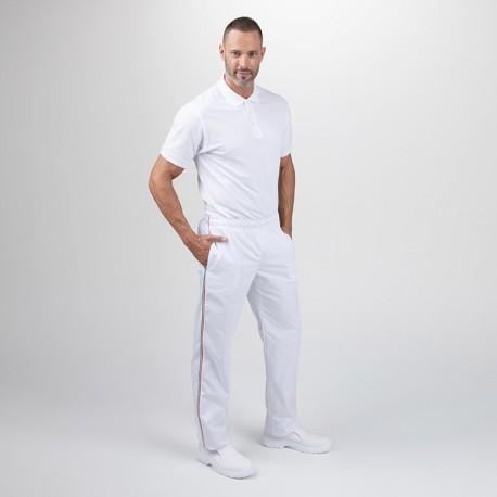 Pantalon de Cuisine Blanc...