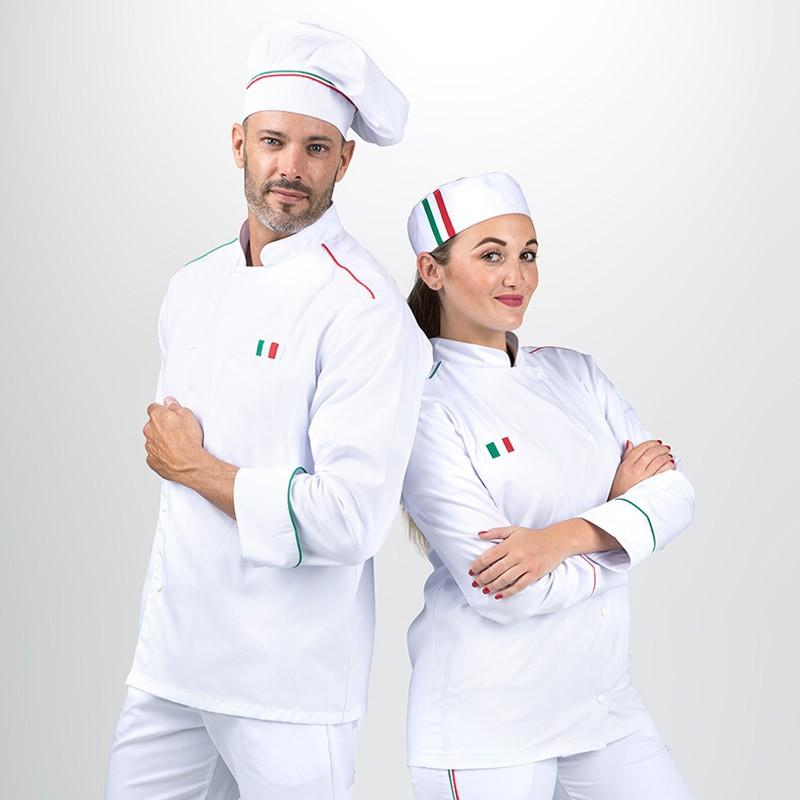 Toque de cuisine Napoli Blanc - MANELLI
