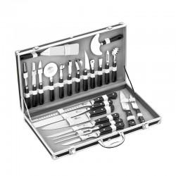 La mallette de cuisine 22 pièces Pradel est conçue pour les apprentis ou professionnels de la cuisine. Livraison rapide.