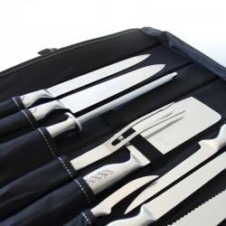 Mallette de 9 couteaux de cuisine Pradel