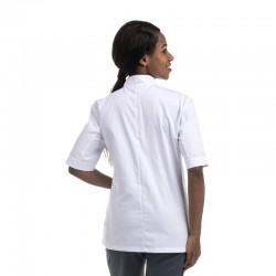 Veste de Cuisine Femme Blanche Manches courtes ou manches longues MANELLI