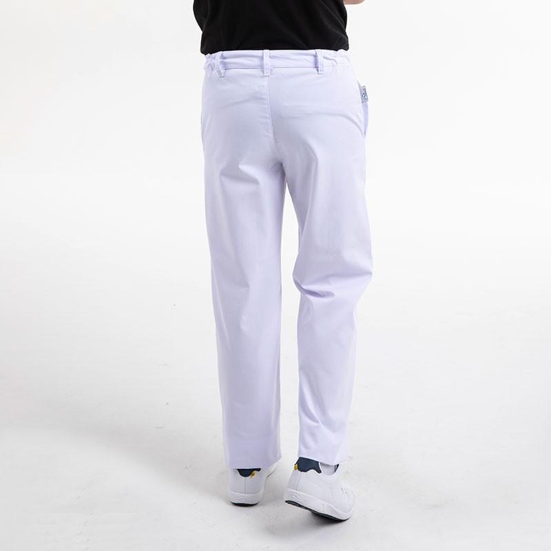 Pantalon de boulanger blanc Manelli dos