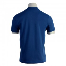 Polo de travail bleu pour homme workwear dos