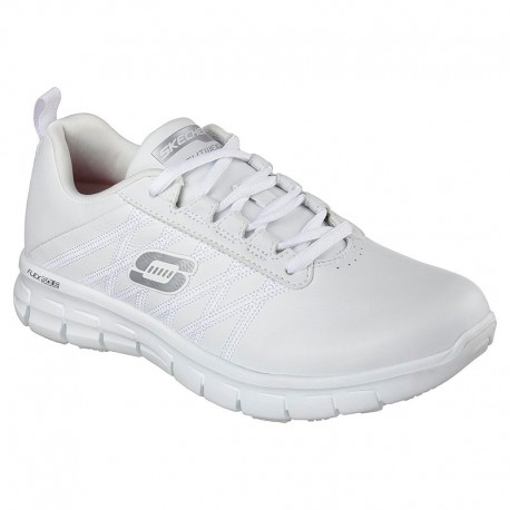 Basket de Travail Blanc Femme Sure Track Erath SR SKECHERS