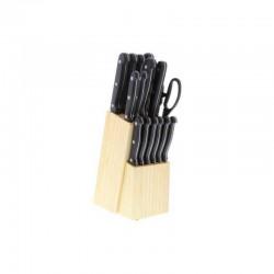 Bloc bois de 17 pieces macao - PRADEL