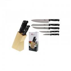 Bloc de 5 couteaux de cuisine - PRADEL
