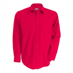 Chemise Serveur Rouge TOPTEX