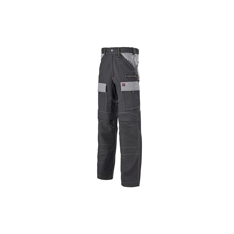 Pantalon Multipoches Protection Genoux Noir homme