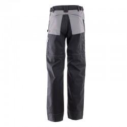Pantalon multipoches protection genoux noir et gris clair Lafont