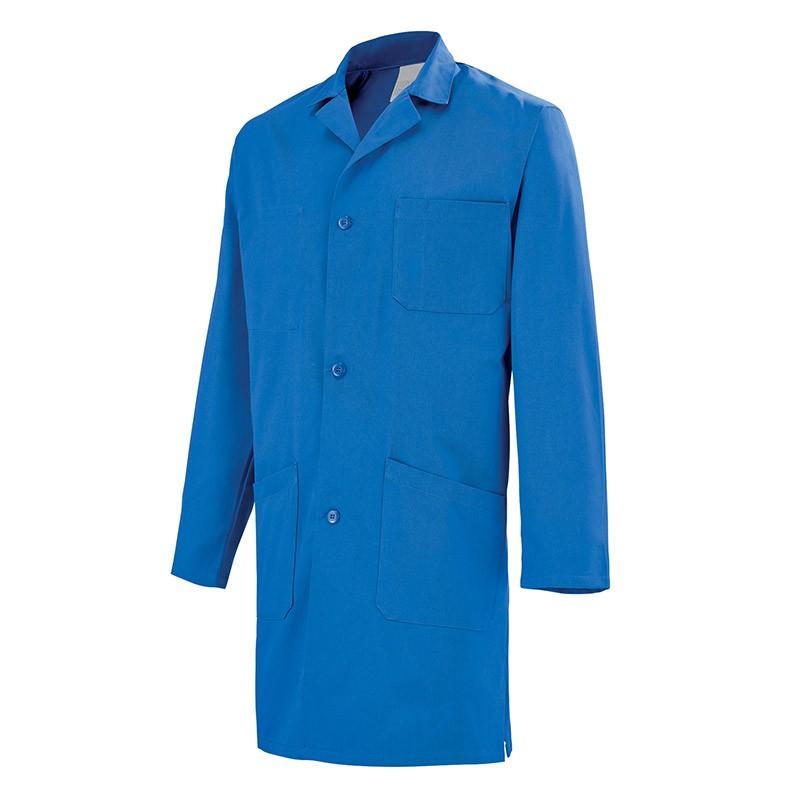 Blouse de travail Bleue Lafont 100% coton