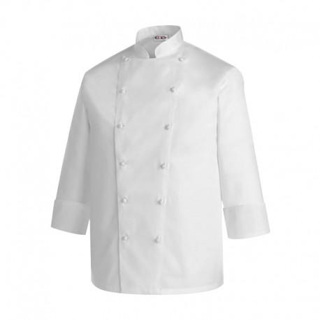 Veste de cuisine blanche Access, premier prix, en coton