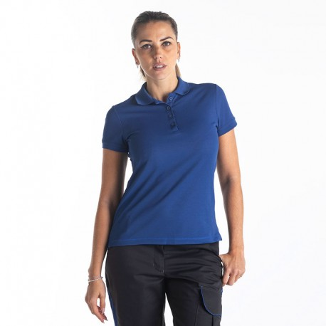 Polo de Travail Bleu Femme PUMA WORKWEAR
