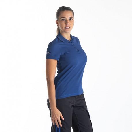 Polo de travail marque puma pour femme bleu marine