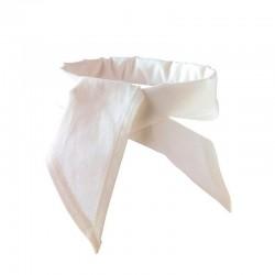 Tour de Cou Blanc de Cuisine- MANELLI léger restauration 100% coton confortable