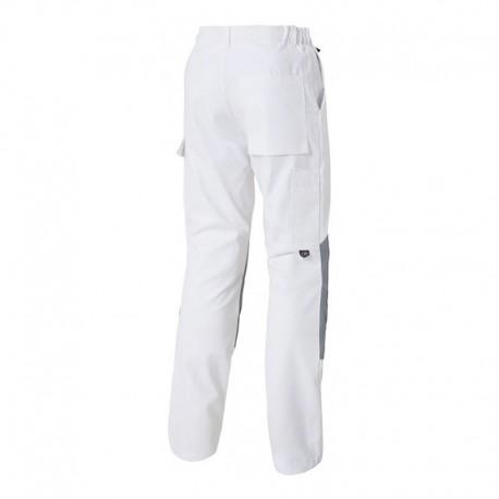 Pantalon de Travail Hygrovet et Genouillères Coton Blanc MOLINEL pour peintres