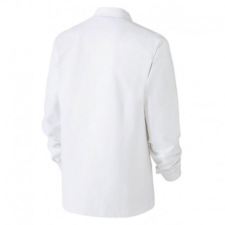 Veste de Travail Blanche 100% Coton MOLINEL pour peintres, carreleurs, plâtriers