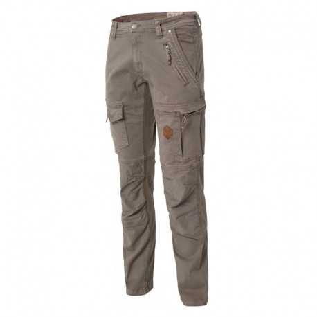 Pantalon de Travail Stretch Multipoches Gris Explore MOLINEL