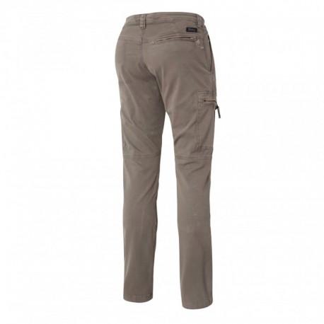 Pantalon de travail gris Molinel pour les artisans, le gros oeuvre, le BTP ou le workwear lifestyle