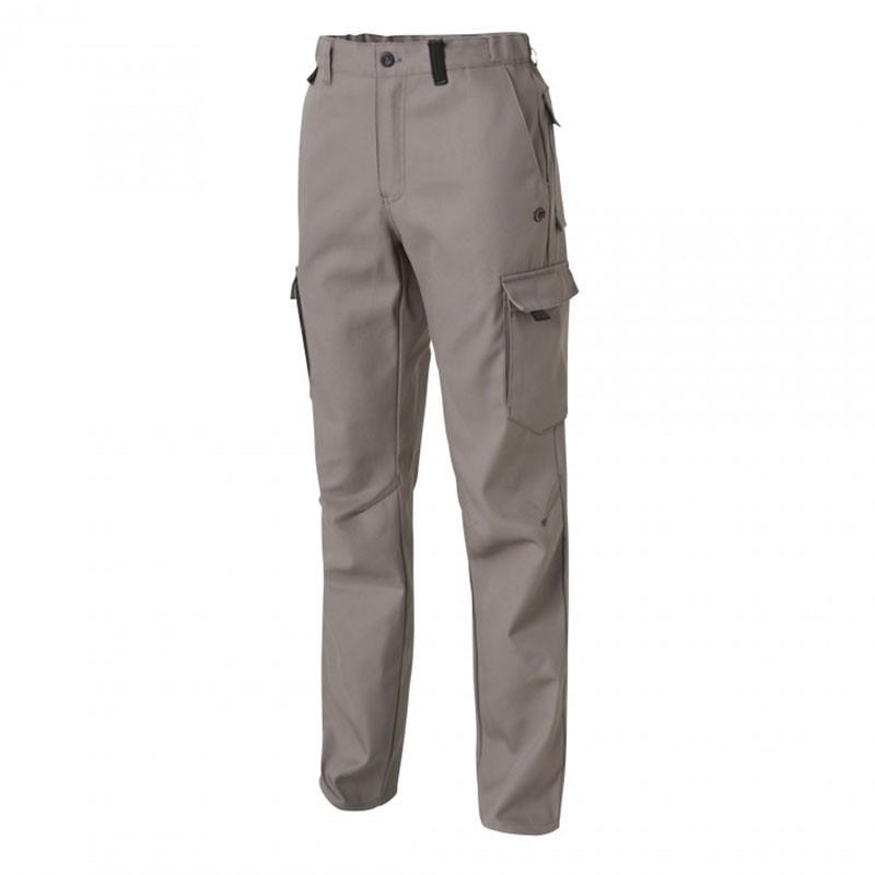 Pantalon de Travail Barroud Optimax Gris Coton Polyester MOLINEL