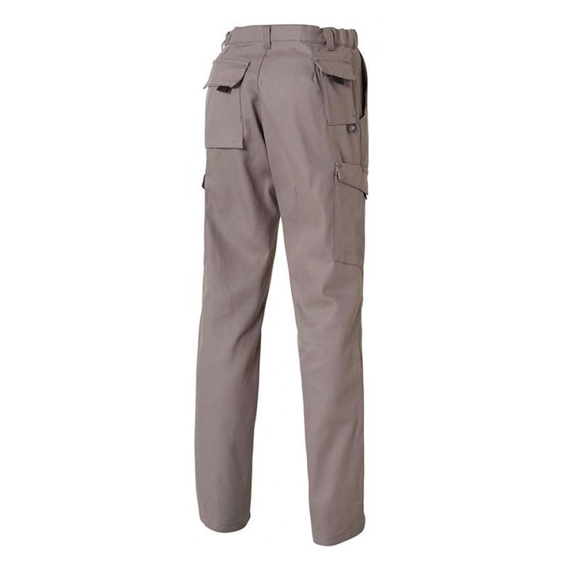 Pantalon de Travail Barroud Optimax Gris Coton Polyester MOLINEL pour mécaniciens, service maintenance ou opérateurs