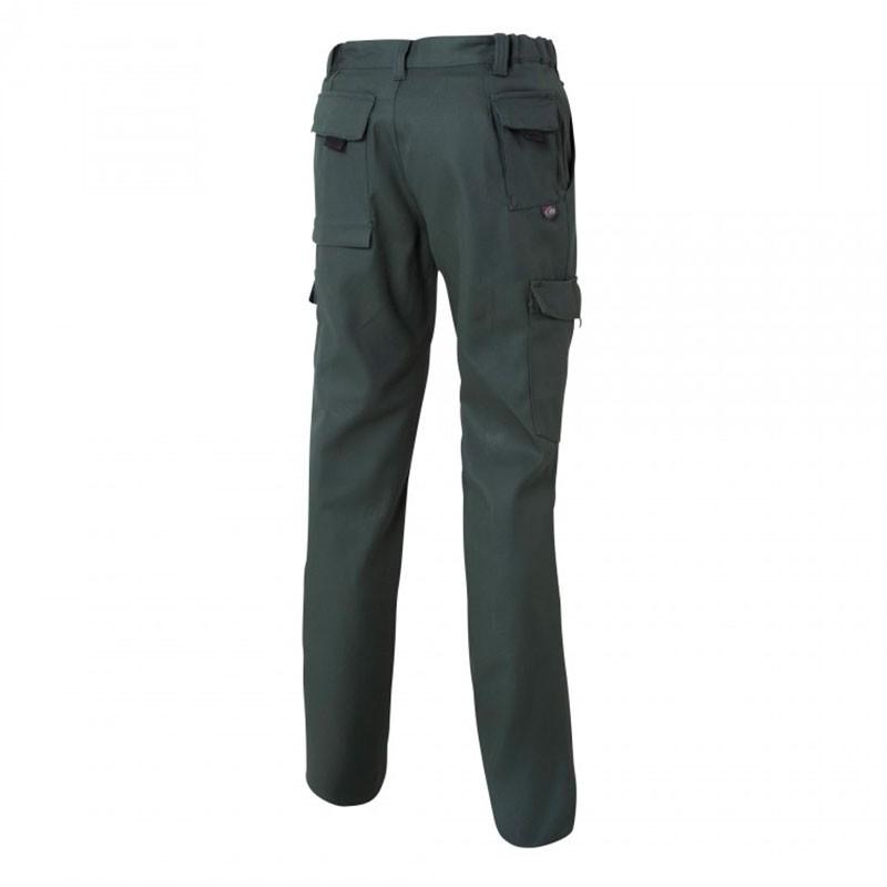 Pantalon de Travail Barroud Optimax Vert Coton Polyester MOLINEL pour mécaniciens