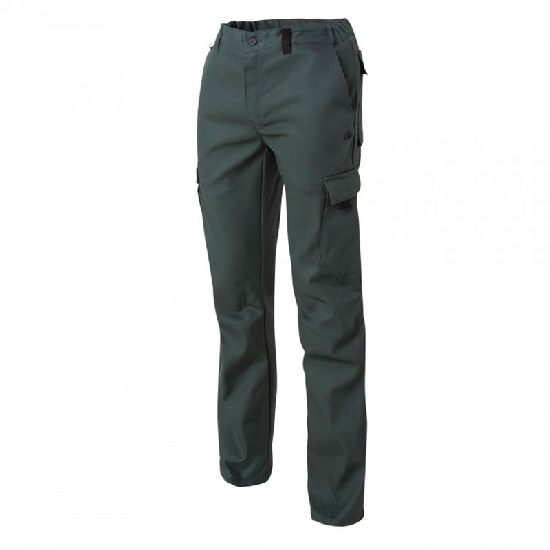 Pantalon de Travail Barroud Optimax Vert Coton Polyester MOLINEL