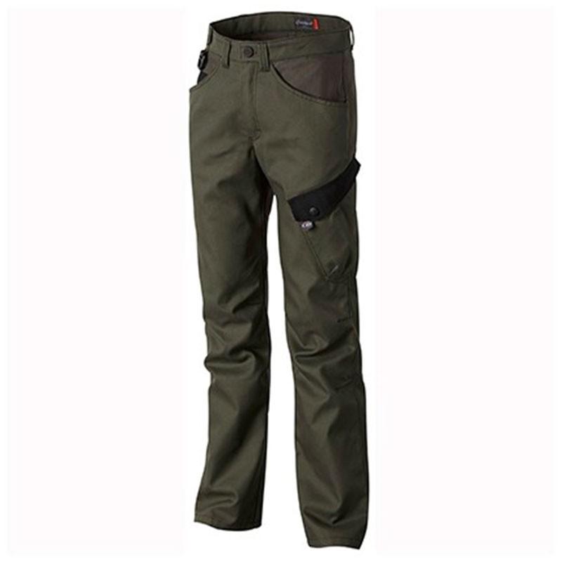 Pantalon de Travail Naturtech Life Kaki et Noir MOLINEL