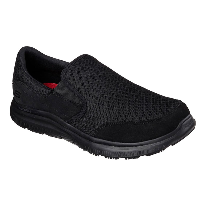 Baskets de Sécurité Noir Flex Advantage Sr Mcallen SKECHERS